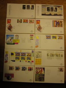 The Netherlands 1996/2012 - Collection FDCs - NVH E345 through E663