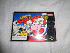 Super Nintendo Kirby's Dream Course  boxed.