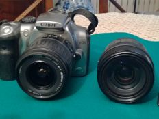 CANON 300D with an objective and a zoom, 1992
