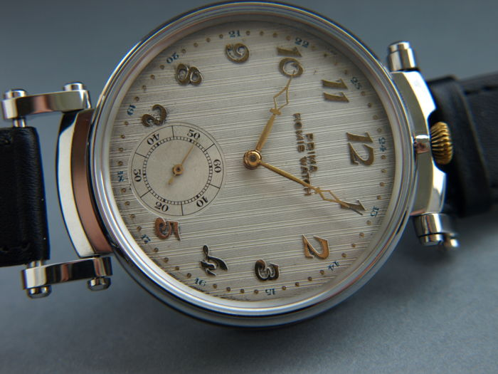 41. Prima Homis Watch men's marriage wristwatch 1905-1910