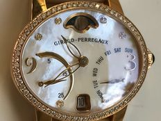 Girard-Perregaux - Gold 18k - Cat's Eye  - Mother-of-Pearl - 72 diamonds 0,83ct