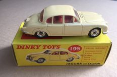 Dinky Toys - Scale 1/43 - Jaguar 3.4 Saloon No.195