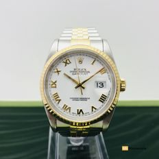 Rolex - Datejust Steel & Gold , ref. 16233,  - Unisex - 1990