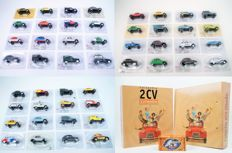 Norev - Scale 1/43 - Exclusieve Citroën Collectie with 50 models