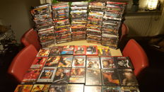 Action DVD collection - approx. 200 movies