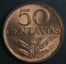 Portugal Republic – 50 Centavos 1979 – Serrated – Curiosity not Catalogued