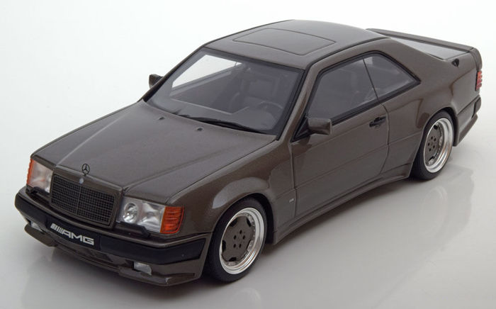 Otto Mobile - Scale 1/18 - Mercedes-Benz C124 300 CE AMG 6.0 wide body - Anthracite - Limited edition 999