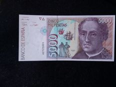 Spain - 6 banknotes