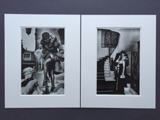 2 x Helmut Newton - Paris, 1975 & Fashion Photograph 1976