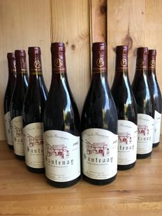 1998 Santenay, JC Guyaux -8 bottles 75cl