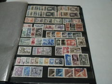 "Poland - A collection with ""GROSZ"" overprints"