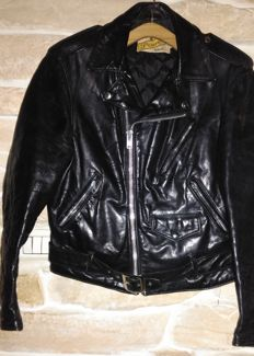 Schott Perfecto - Motorcycle leather jacket - made in USA - c.1970