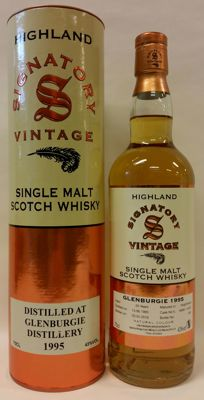 Glenburgie Vintage 1995 - 20 years old - bottling of Signatory Vintage (bottle No. 260)