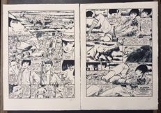 "Crepax, Guido - 2x lithographs ""Valentina"""