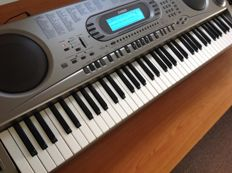 Casio WK-1800 - Digital Piano with 76 velocity-sensitive keys, 232 sounds, 130 rhythms, Synthesizer function and MIDI