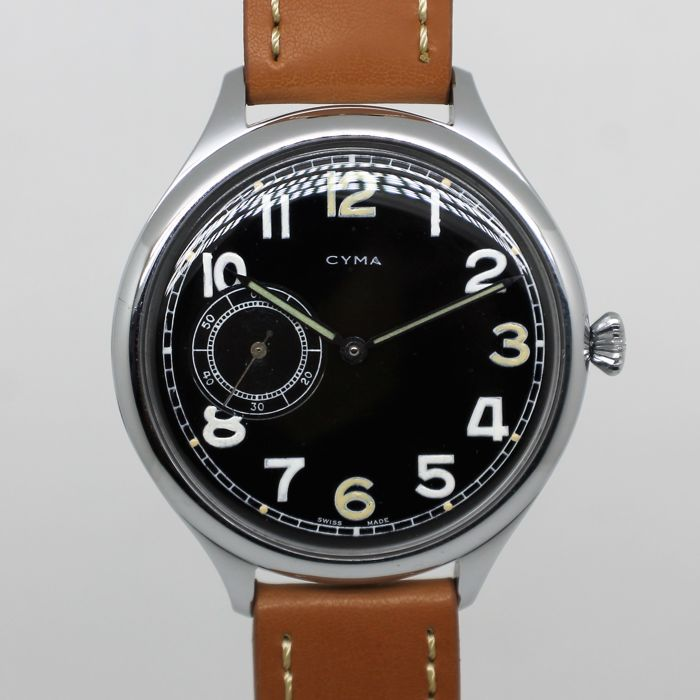 Cyma – Military WW2 G. imprint P – M60023 – For Men – 1943