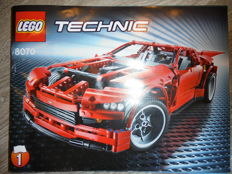 Technic -  8070 -  Supercar.