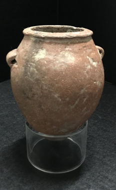 An Egyptian PreDynastic  Jar, Naqada II period (3300-3200 BC) 4  Inches