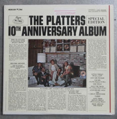 """ The Platters "" 10th Anniversary-  8 LP's and Two  Double Albums."