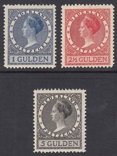 "The Netherlands 1926 – Queen Wilhelmina type ""Veth"" – NVPH 163A/165A"