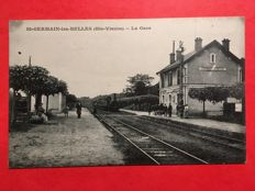 France: lot of 39 postcards on the theme of railway stations - 1900/1920