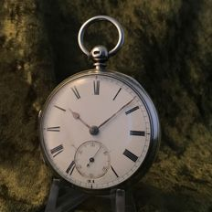 English lever pocket watch - around 1882