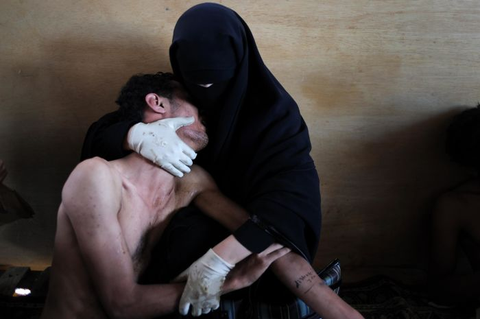Samuel Aranda (1979-) Sanaa, Yemen, 2011, World Press Photo Winner print