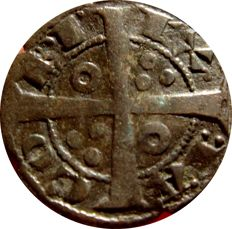 Spain - Jaime I of Aragon, the Conqueror (1213–1276) and Count of Barcelona (1213–1276), scarce diner de tern - Barcino - (Barcelona)