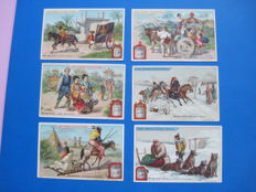 Antique German Liebig cards.  (163 x).  1898-1902
