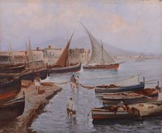 Unknown artist (early 20th century) Marina napoletana