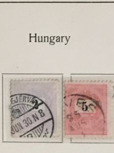 Hungary - Collection in 3 Albums