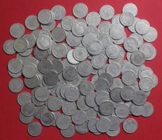 The Netherlands – 10 cents 1892 up to 1925, Wilhelmina (150 pieces) - silver