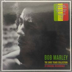 Bob Marley - The Early Years Collection Box Set Limited Edition 12 X 7'' Vinyl Collection + A1 Colour Poster (SEALED) + Tougher Than Tough, Story of Jamaican Music, Box-Set Limited edition (4 CD SEALED)