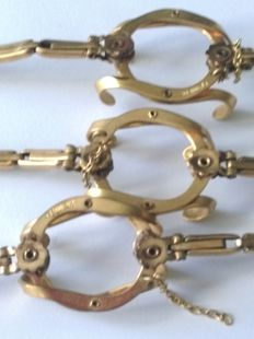 lot of 3 expandable bracelets for the pocket watches of the 'Poilus' WW1