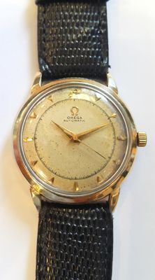 Vintage classic 14 kt gold wrist watch Omega - Switzerland, 1950s