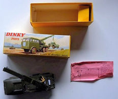 Dinky Toys-France - Scale 1/55 - Berliet Army Wrecker No.826