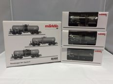Märklin H0 - 46460 - 3-piece set with tank carriages 'Aretz' of the DB (2308)