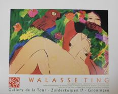 Walasse Ting - First time in love