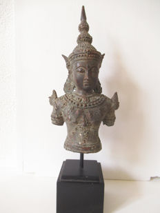 Bronze Shiva state on console – Thailand – Second half 20th century