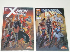 X-Men Gold #1 - J. Scott Campbell EXCLUSIVE Covers A & B - sc - Signed - 1st Edition - (2017)