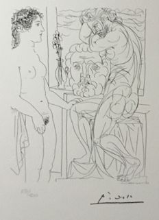 Pablo Picasso (after) - Suite Vollard, planche LXXII