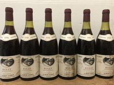 "1981  Rully ""Tête de Cuvée"" Albert Added - Total 6 Bottles"