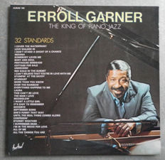 The Unforgettable King of Piano Jazz -  Erroll Garner : Rare and Very Rare  Albums :  9 Lp's & Two  Double Albums