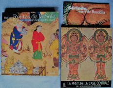 Lot with three books (in French) on art and culture of Central Asia - 1978/1995.