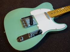 New Phoenix Tele 150 electric guitar, limited edition Sea Foam Green
