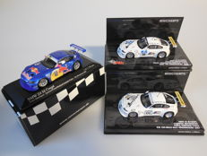 Minichamps - Scale 1/43 - Lot with 3 x BMW Z4 M Coupé