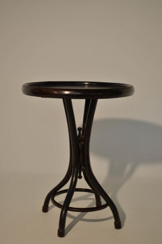 Thonet style coffee table, made of steam bent beech - Austria, 20th century