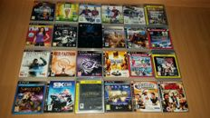 24 Ps3 games. Like :  Gta + Gran Turismo + Killzone and more