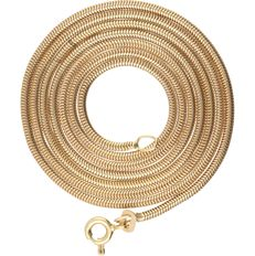 18 kt yellow-gold snake-link necklace - length: 60 cm