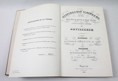 Illustrated Dictionary of the Munitions of War and Other Effects Belonging to the Material of Artillery.